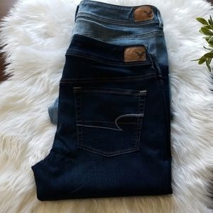 American Eagle Kick Boot Stretch Jeans  14 Long